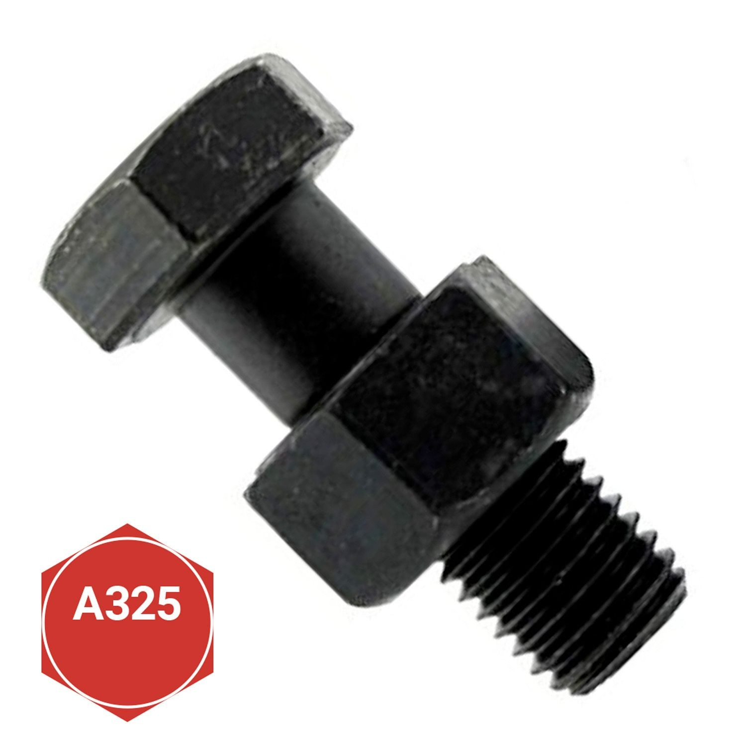A325 Type 1 3L 400 PK 3//4-10 Steel Structural Bolt with Nut Plain Finish