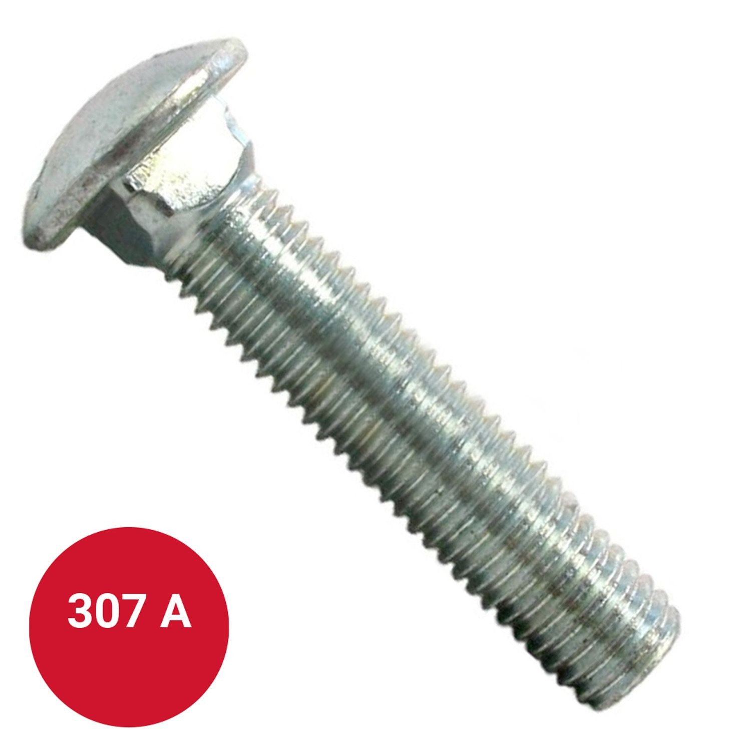 """Zinc Plated Pack of 50 Southern CB386134Z-50 Carriage Bolt 3//8-16 x 1-3//4/"""""""
