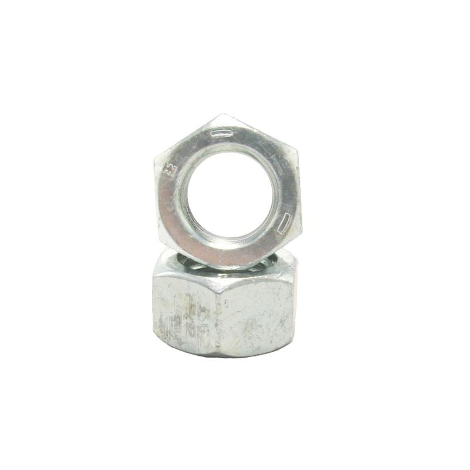 1-1//8-7 Hex Nut Stainless Steel Grade 18-8 Full Finished Qty 10