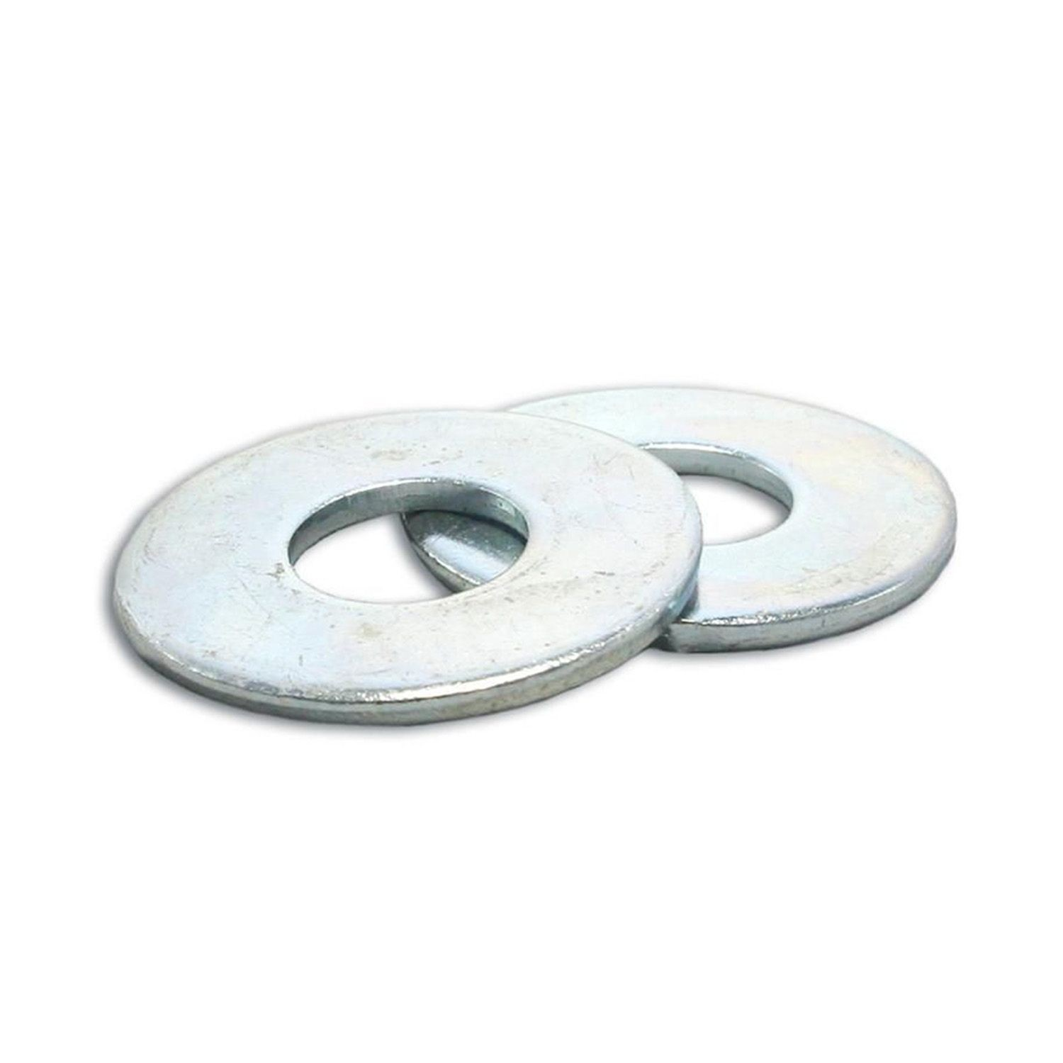 #10 Zinc Plated USS Flat Washer