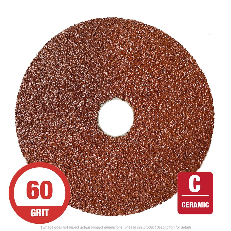 3M ABR-982C-80-4.5x0.875 4-1//2 x 7//8 4-1//2 x 7//8 Cubitron II Fibre Disc Pack of 25 80+ Grade 25