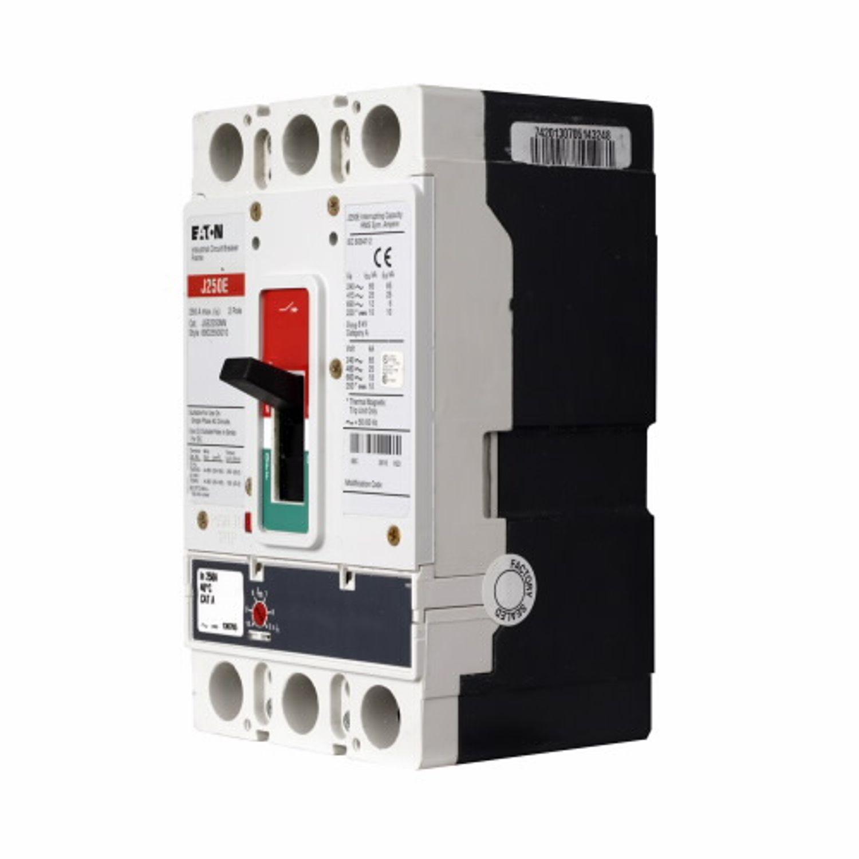 Eaton Jge2100fag Series G Molded Case Circuit Breaker 600volt Cutler Hammer 100 Amp Main Panel 100amp 2 Pole