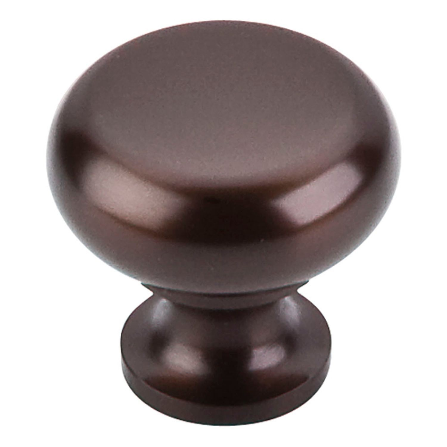 "1 1/4"" Flat Faced Knob Oil Rubbed Bronze"