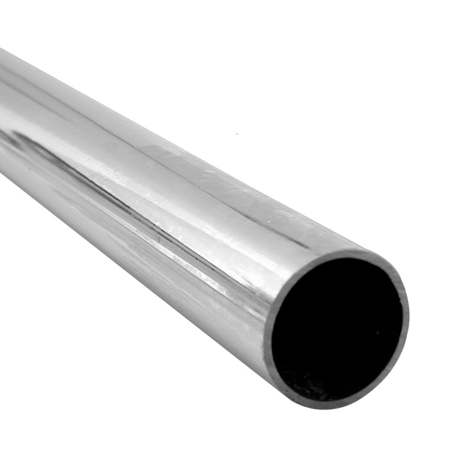 "1"" Outside Diameter x 48"" Length x 17 Gauge Chrome Plated Steel Tube"