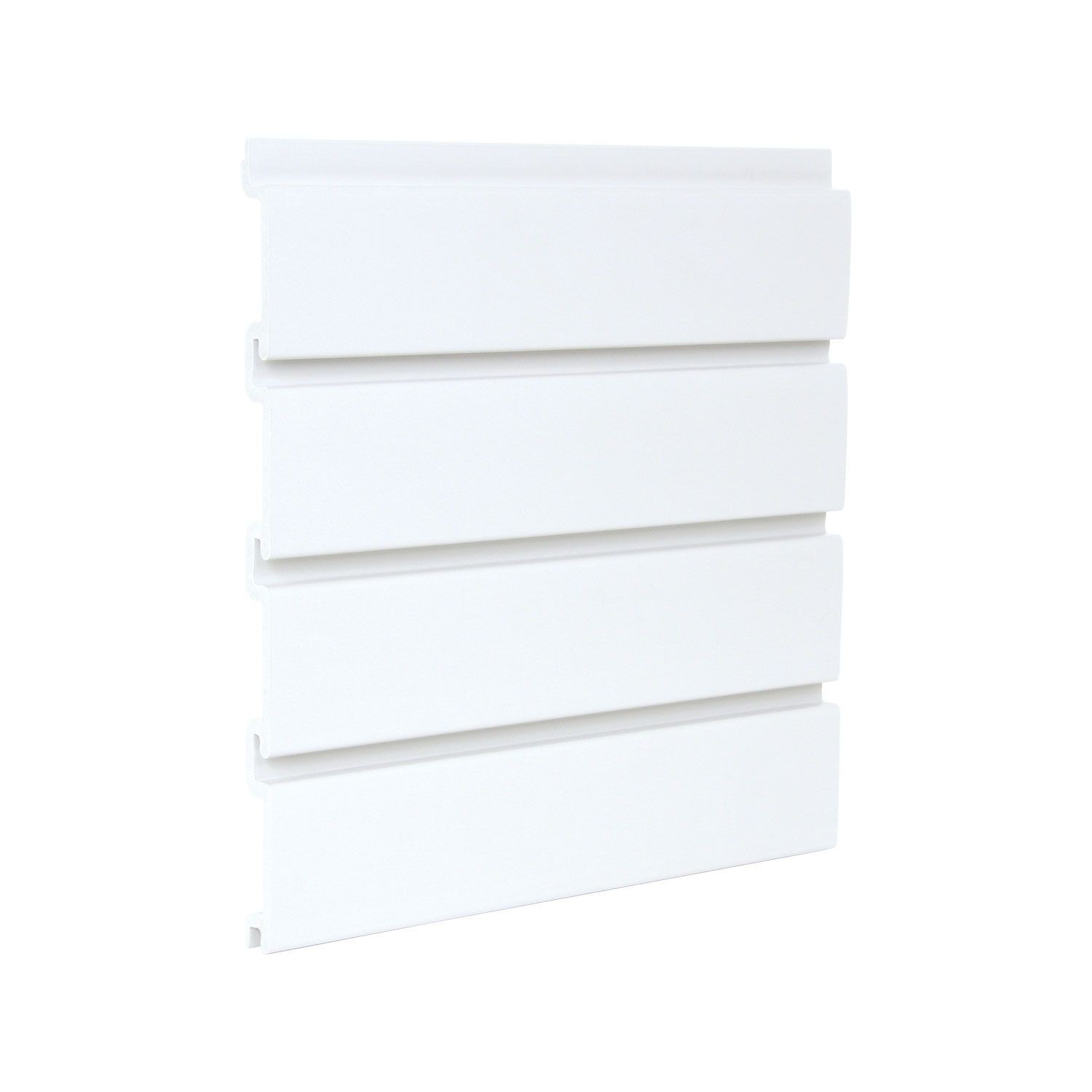 1' X 8' White Greatwall Panel 4 Pieces Per Box