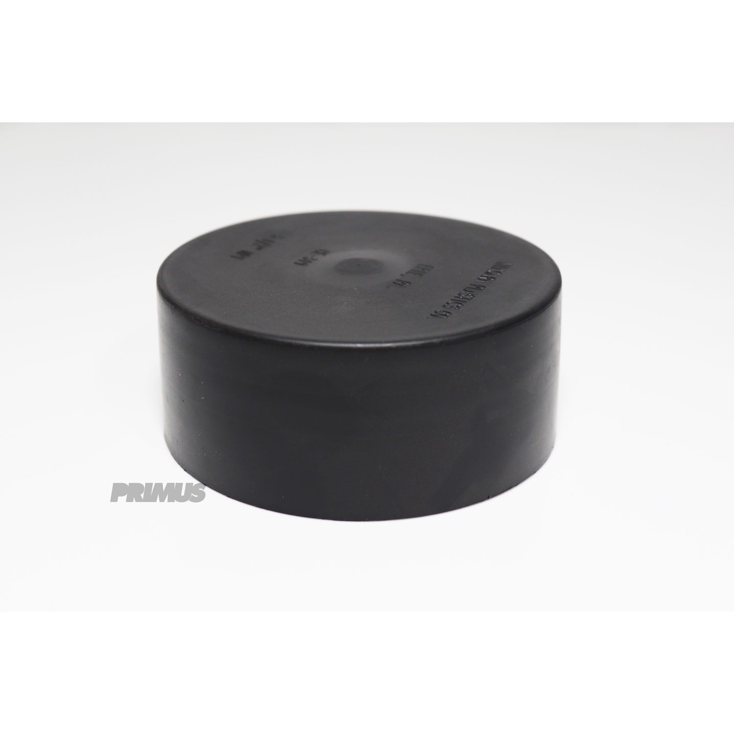 "4"" PORT CAP BLACK"