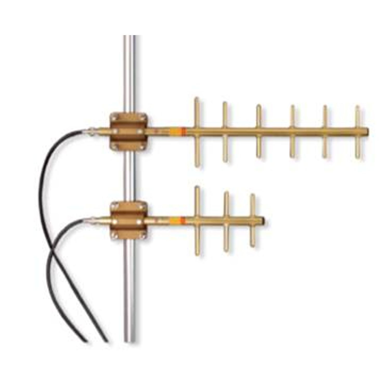 450-480 MHZ DIRECTIONAL YAGI ANTENNA, 6 ELEMENT, 10.2 DBD GAIN