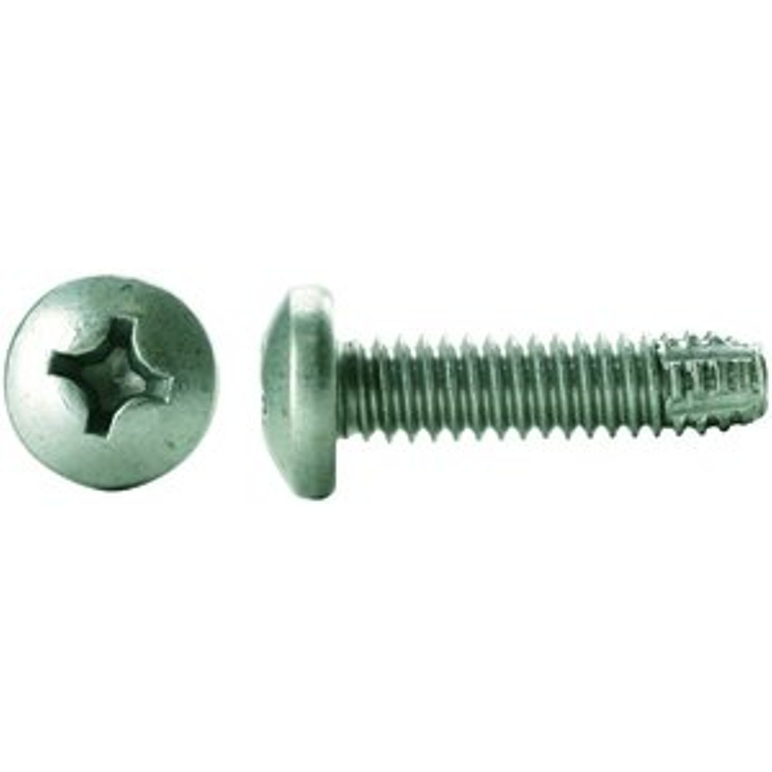 #12-24 x 1 IN. Phillips Drive Pan Head Zinc Finish Type F Point