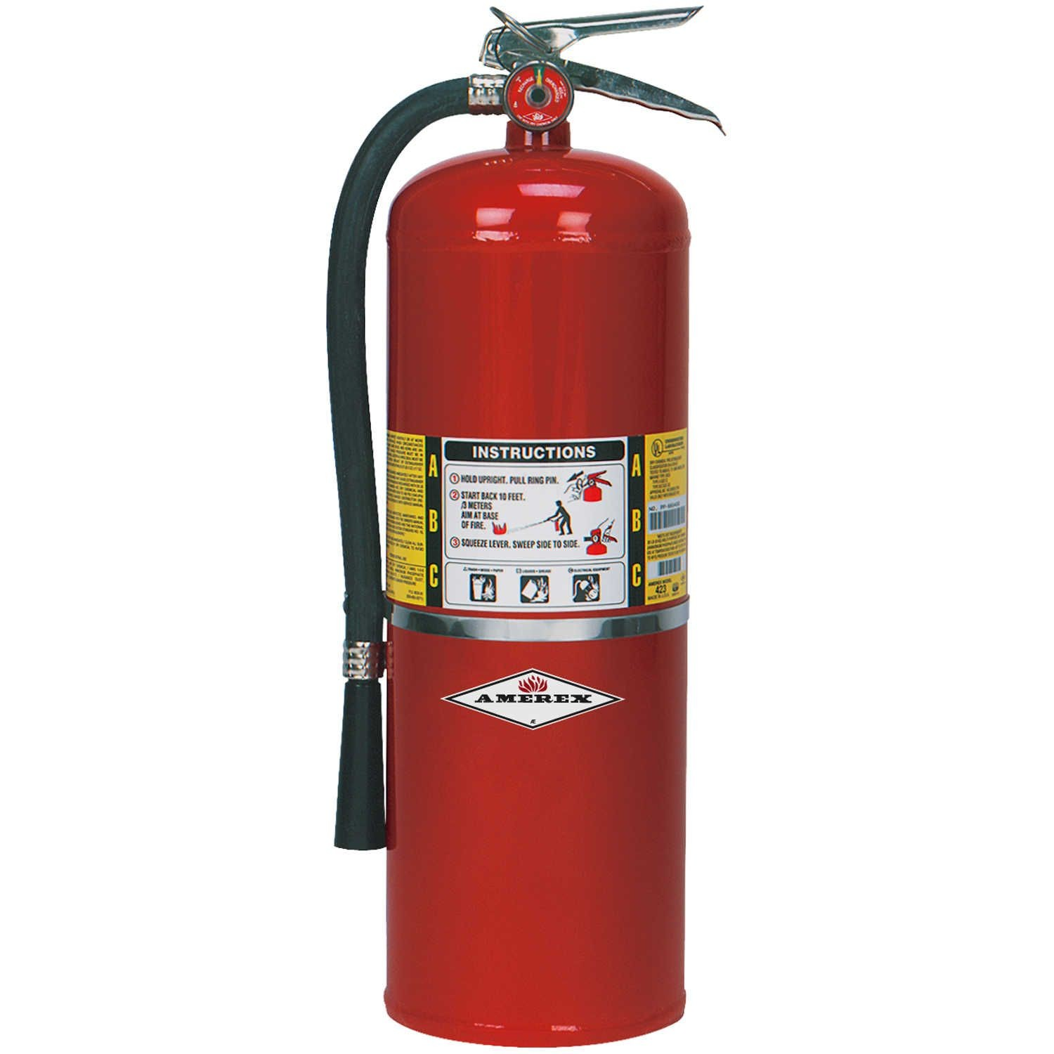 2-1/2 LB. ABC STORED PRESSURE DRY CHEMICAL FIRE EXTINGUISHER