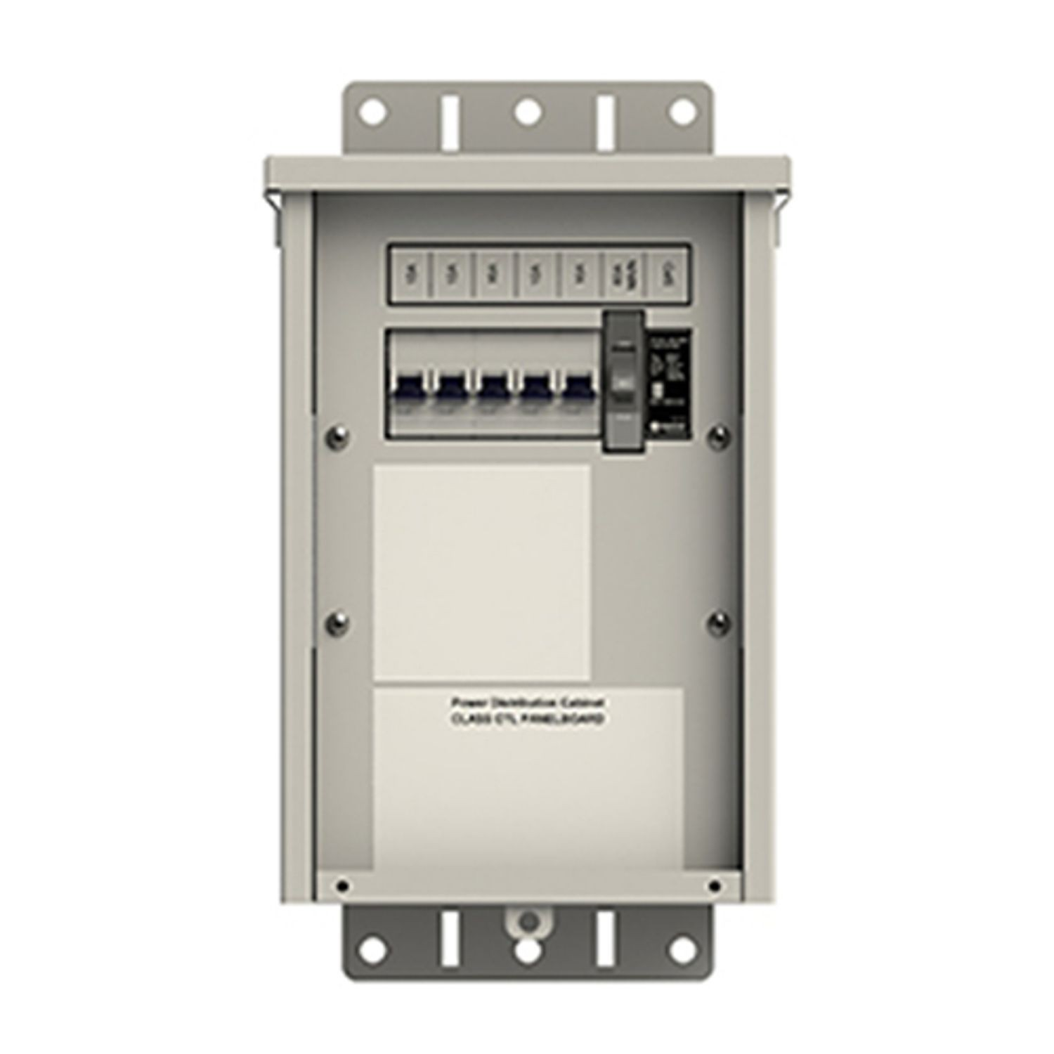 Electrical Cabinet SMALL CELL Outdoor Single-phase 120 Vac 60A Main 5x 10A Branches UL 67 Service Entrance MOV