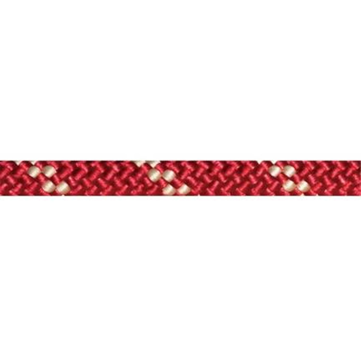 12.5 MM RED/WHITE STATIC KERNMANTLE ROPE, 300 FT.