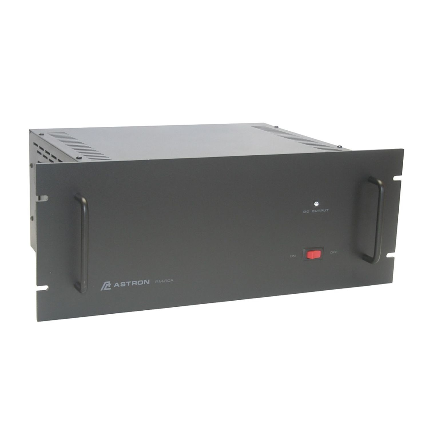 19 IN. RACK MOUNTED LINEAR POWER SUPPLY WITH SEP VOLT AND AMP METER
