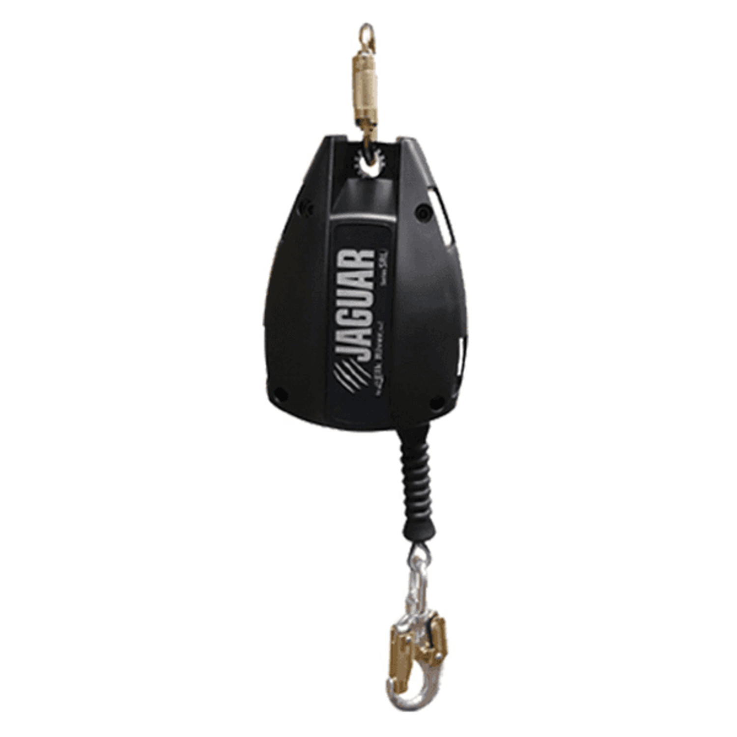 3/16 IN. X 50 FT. JAGUAR SERIES SRL WITH CARABINER AND GALVANIZED AIRCRAFT CABLE