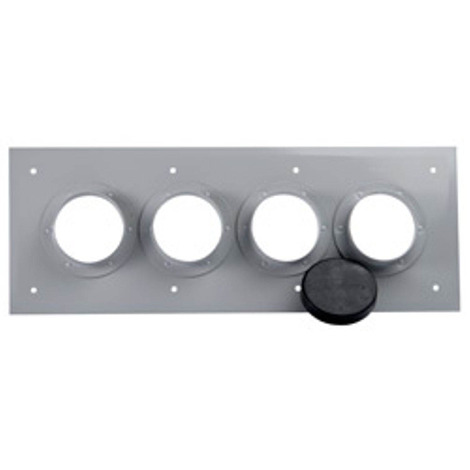 "4"" ALUMINUM 4 PORT ENTRY PANEL"