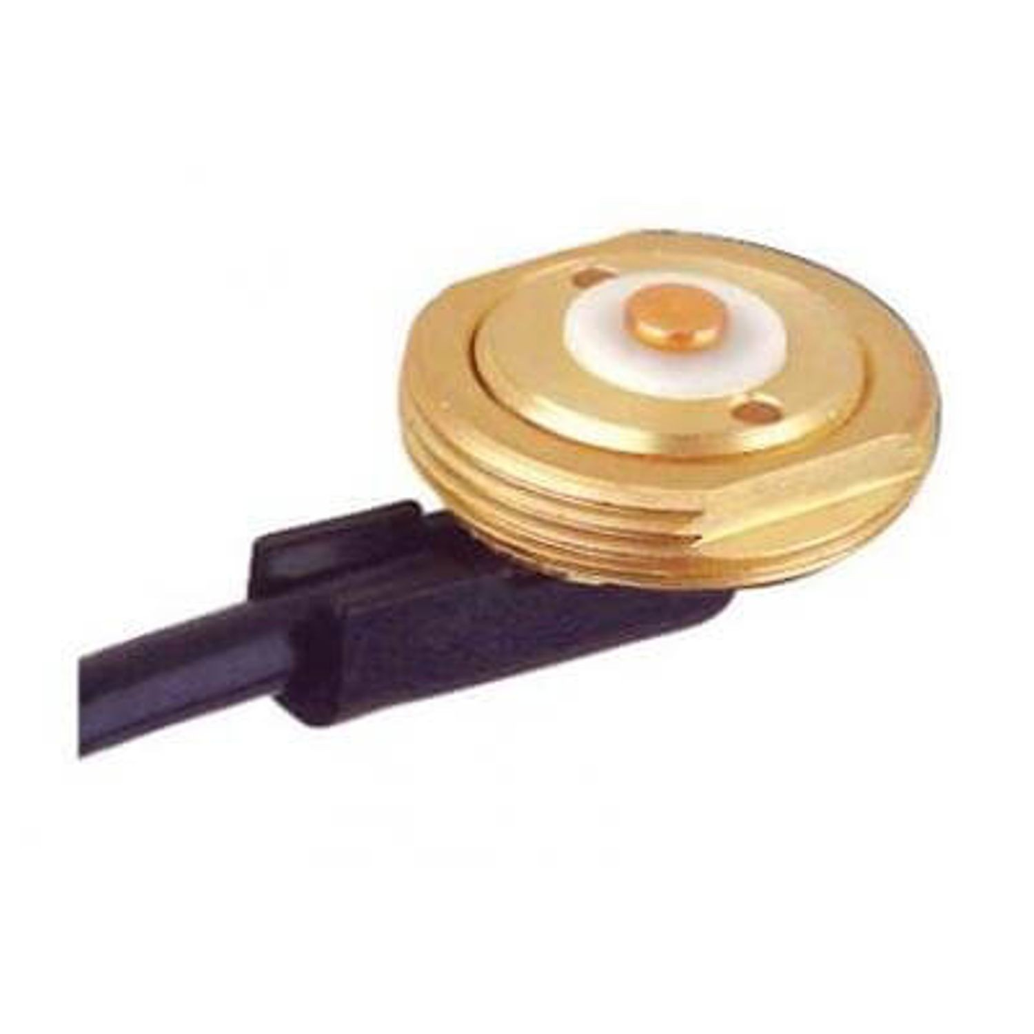 3/4 IN. HOLE BRASS MOUNT FOR USE WITH RG58 SIZE CABLE