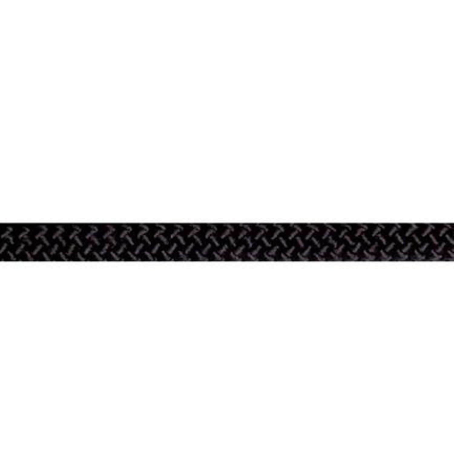 12.5 MM BLACK STATIC KERNMANTLE ROPE, 1200 FT.