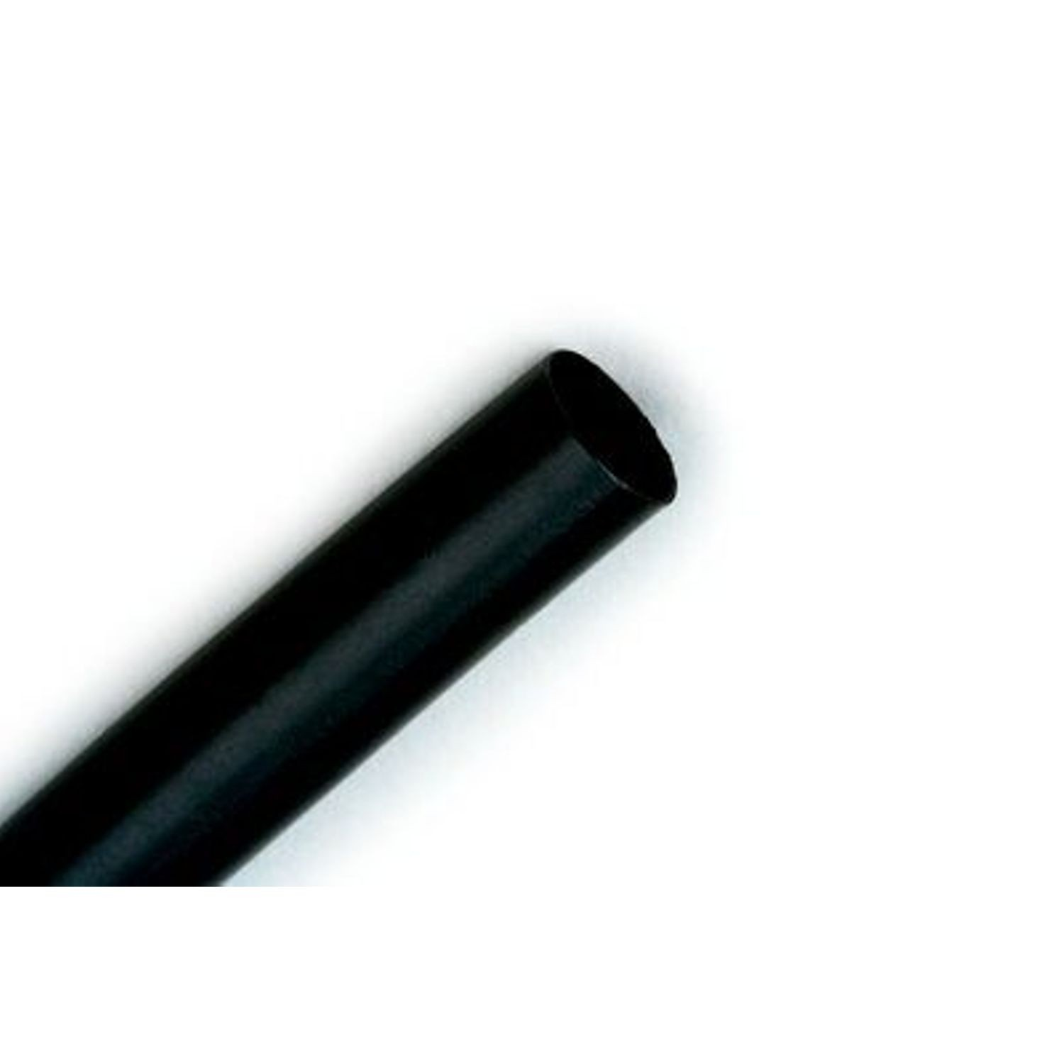 "1/4"" X 100' BLACK HEAT SHRINK, ROLL"