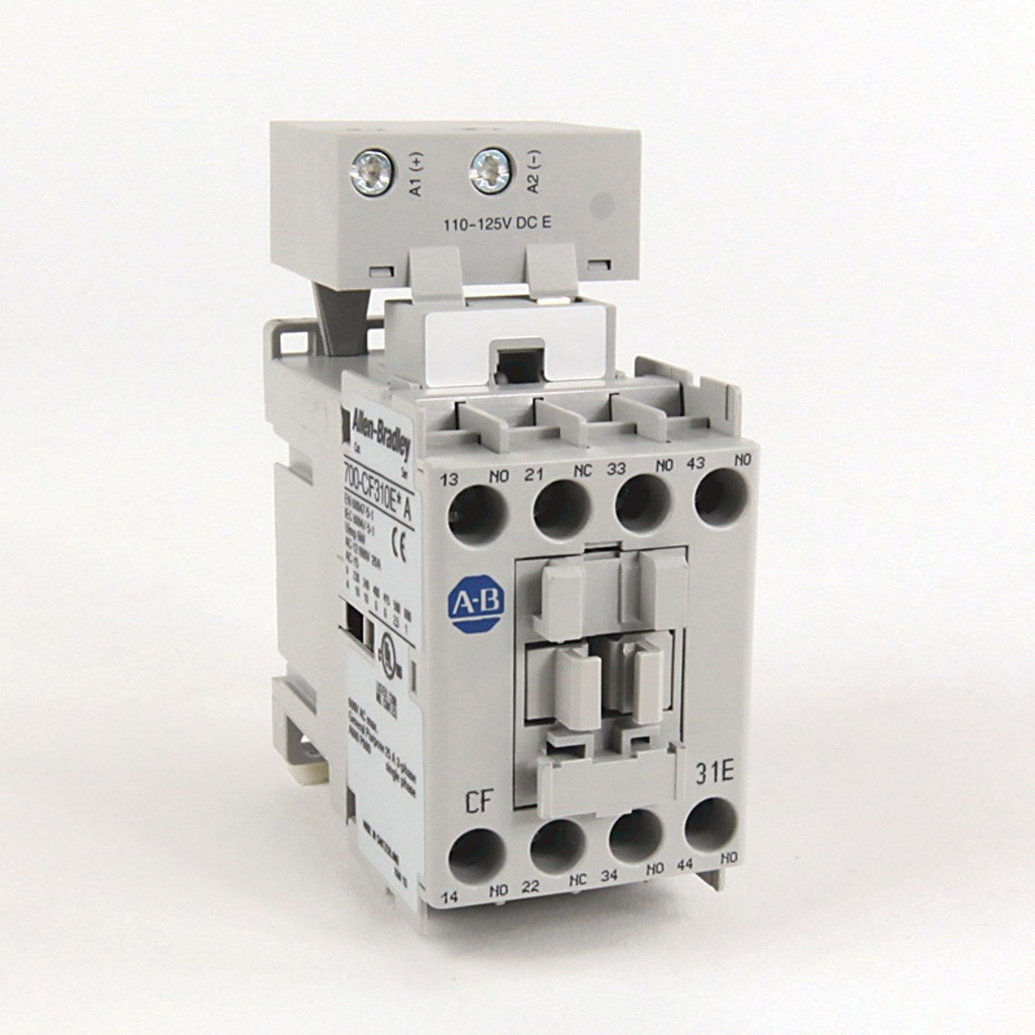 700 Cf Iec Control Relay Screw Terminals F Standard Contacts 3 With No And Nc 1 240v 60hz
