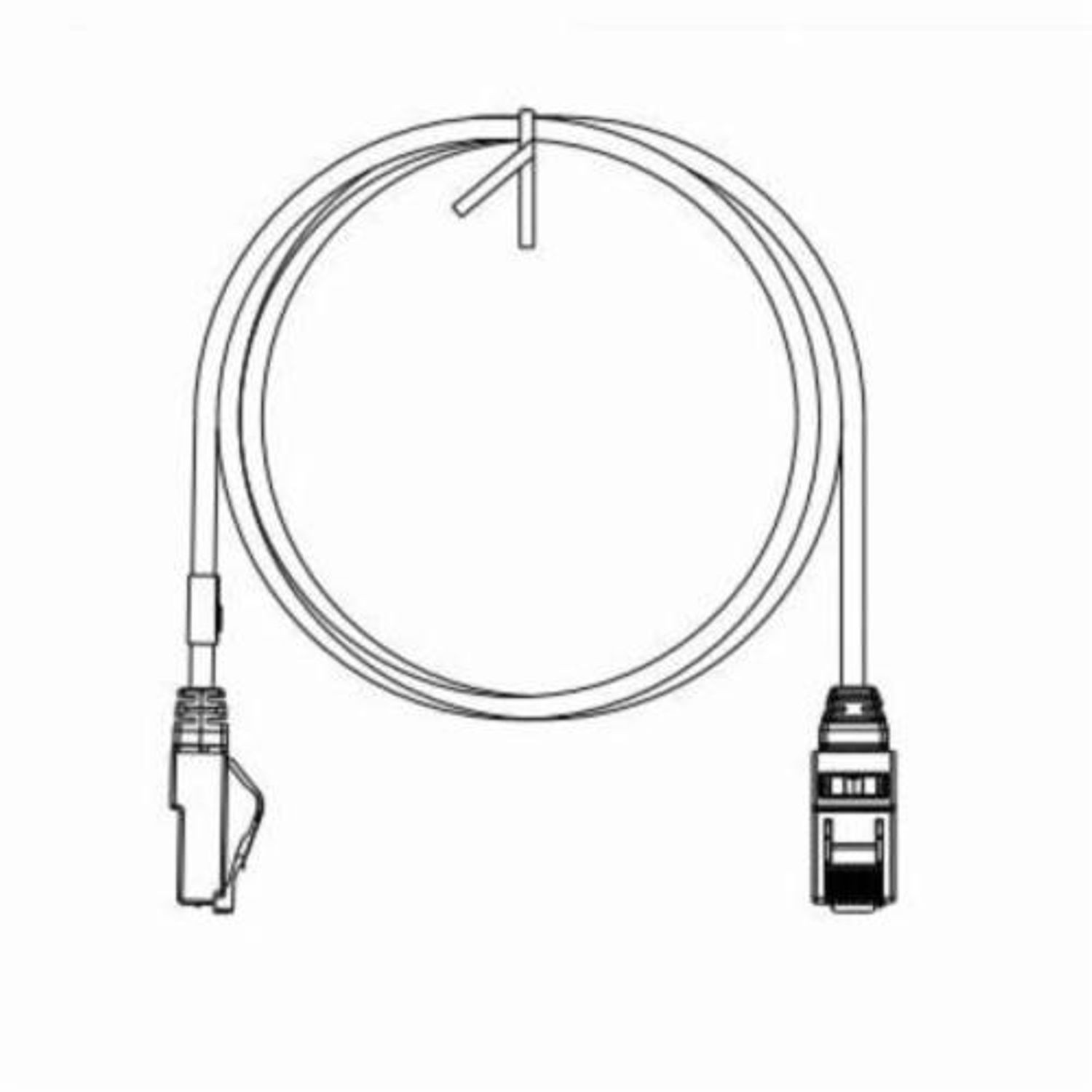 Panduit Pannet Tx6 Plus Utpsp2buy U Utp Patch Cord Cat 6 Awg Rj45 Connector Wiring Category 24 Stranded Copper Conductor 2 Ft L