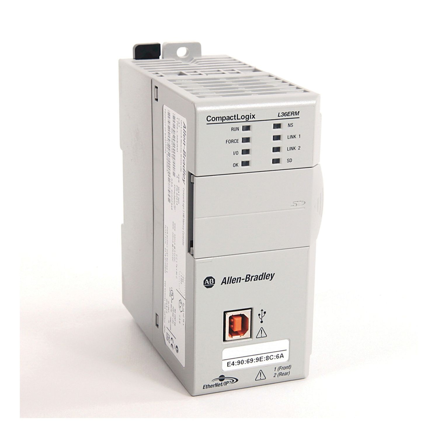 Compactlogix 5370 L3 Controllers Dual Ethernet W Dlr Capability Axis 2gb 48 Ip Nodes 16 Cip Motion With Kinematics Function Are Shipped 1gb Sd Card And Can Support Up To