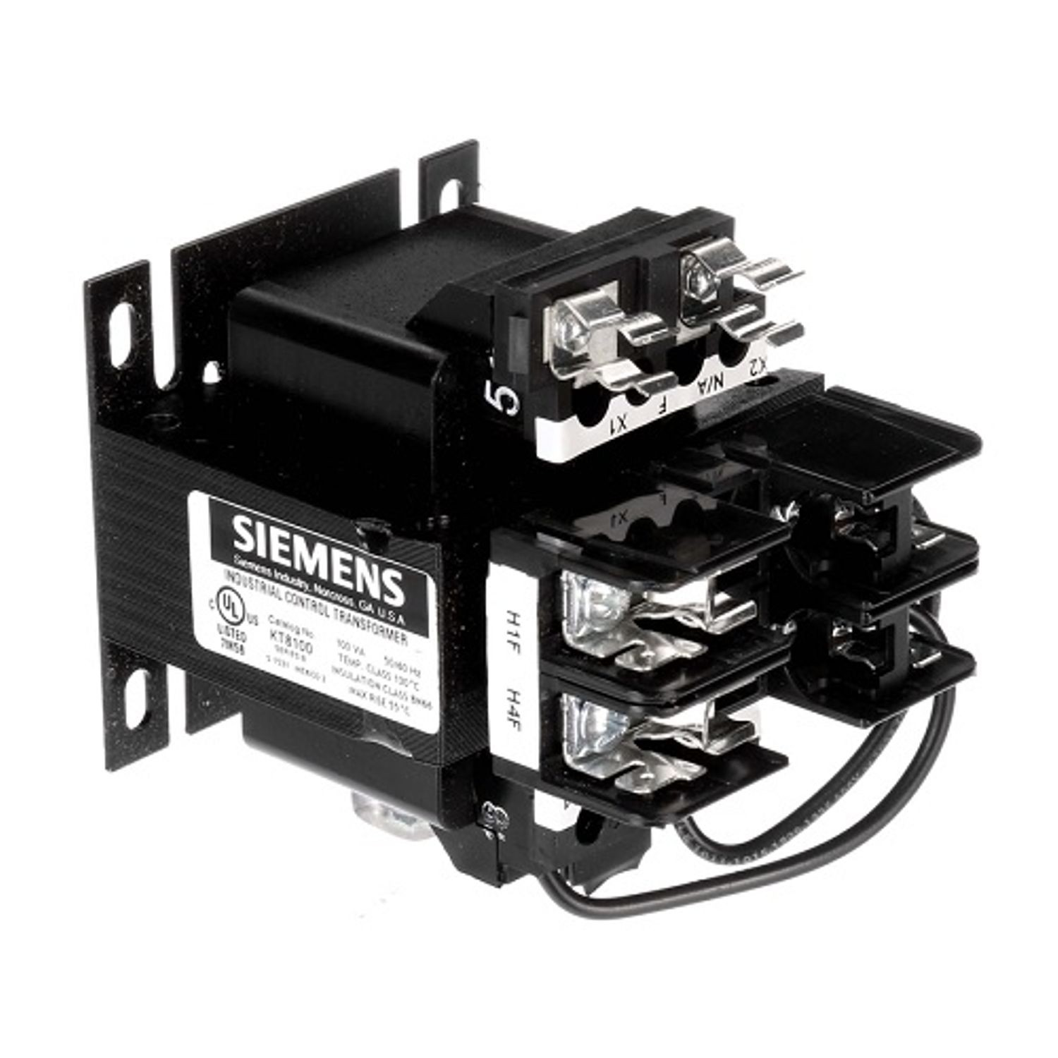 Siemens KT Control Power Transformer Kit, 240/480 VAC Primary, 120 VAC  Secondary, 100 VA, 50/60 Hz, 1 Phase