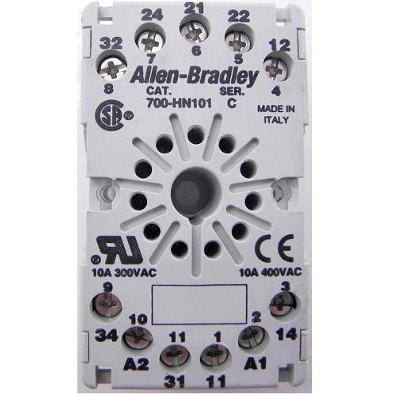 Allen Bradley Relay Socket 3pdt 700 Ha Relays Panel Or Din Rail Heavy Duty Contactor In A Lockable Metal Structured Wiring Mount 1 2 Inch