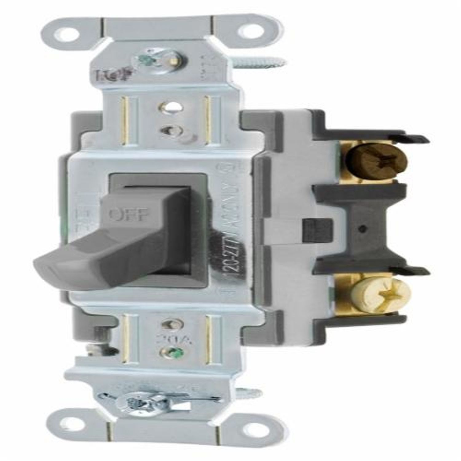 Wiring Device-Kellems CS320GY 3-Way General Purpose Standard Toggle ...