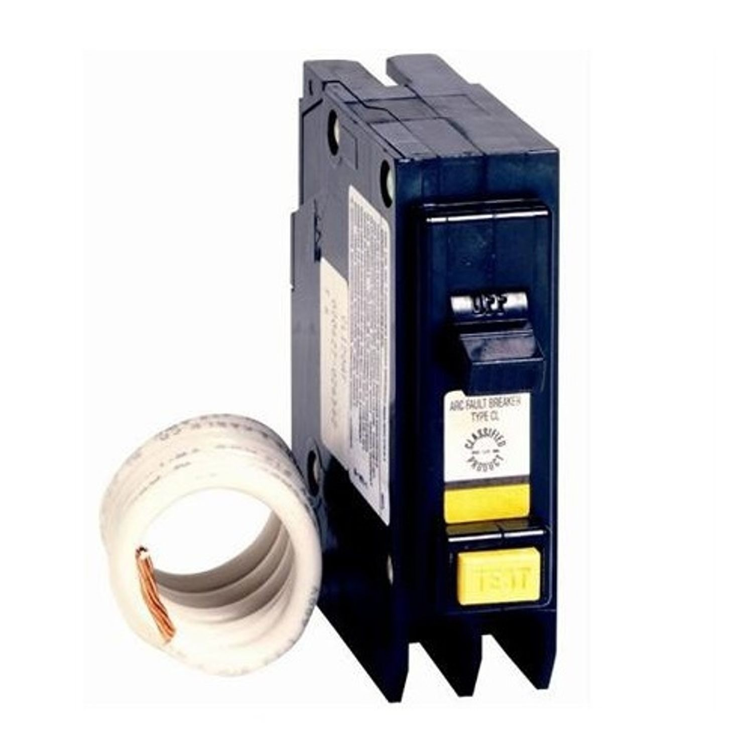 Cutler Hammer Cl120af Arc Fault Circuit Breaker Type Ch 120 240 Breakers Vac 20 A 10 Kaic 1 Pole
