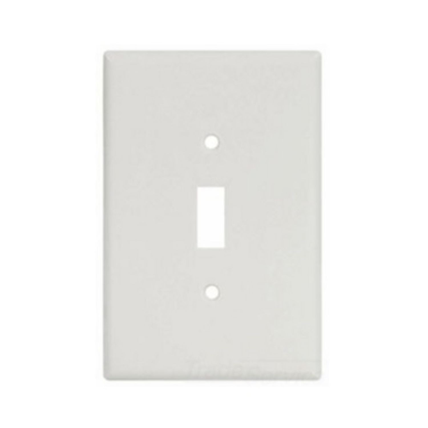 Cooper Wiring Arrow Hart 2144w Box Oversize Wallplate 1 Gang A Three Switch White 5 4 In H X 3 2 W Thermoset