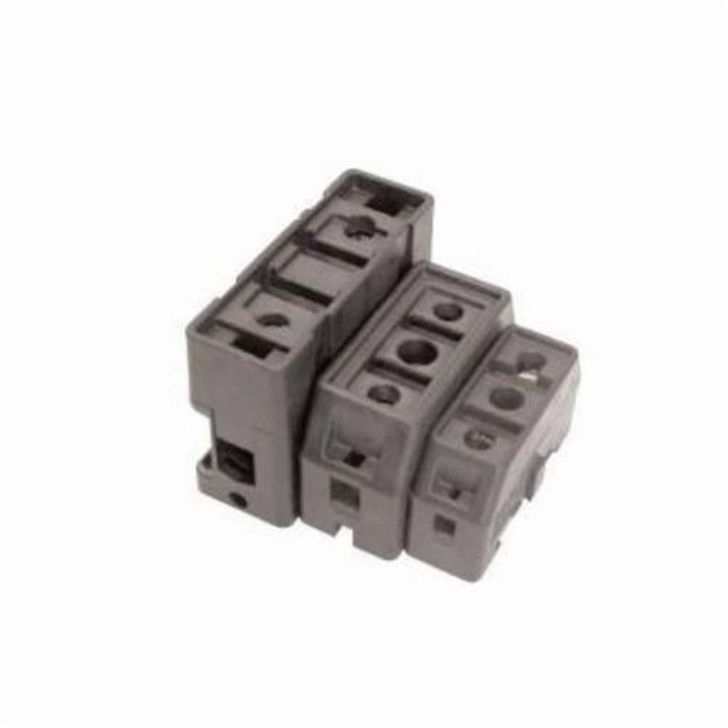 Bussmann Tcfh Cube Fuse Holder 600 Vac Vdc 1 To 100 A 18 Box Awg 6 Wire Pole