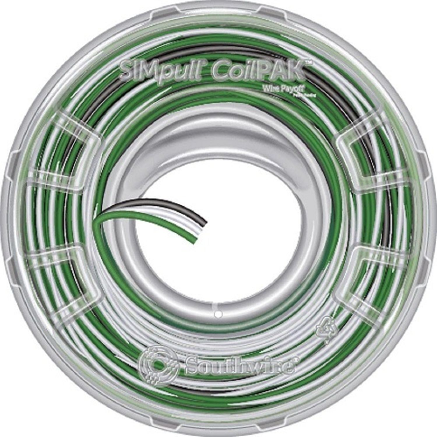 Southwire® SIMpull THHN® THHN Building Wire, 600 VAC, (3) 12 AWG ...