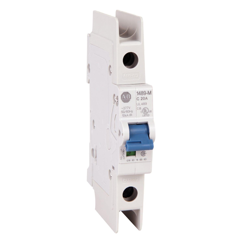Allen Bradley 1489 M1c150 Bulletin Miniature Circuit Breaker Ac Wiring Standard Configuration 1 Pole Trip Curve C Ul Csa Max