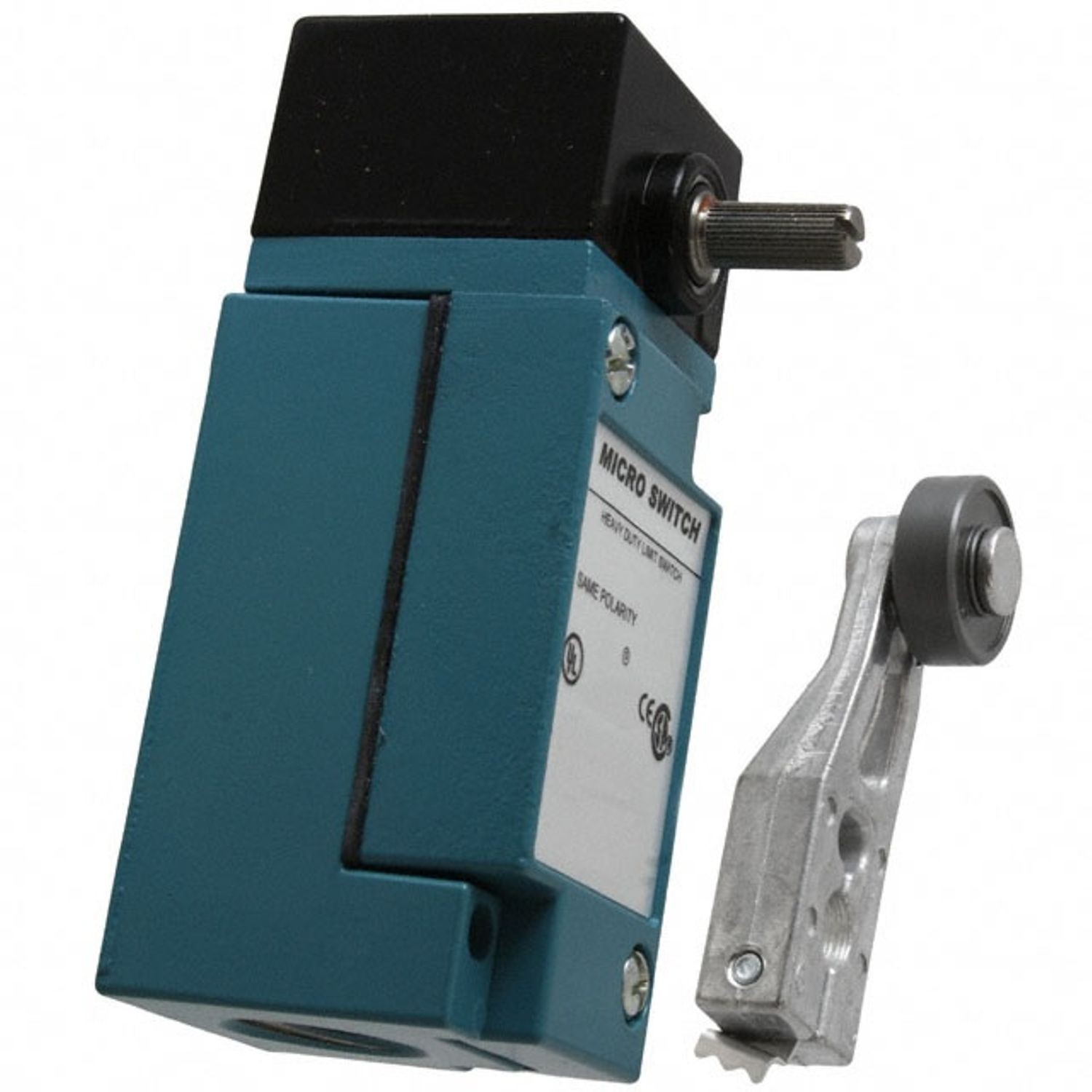 Honeywell Micro Switch Hdls Heavy Duty Limit 600 Vac 250 Vdc With Roller Lever 10 A Side Rotary Actuator 1 Poles