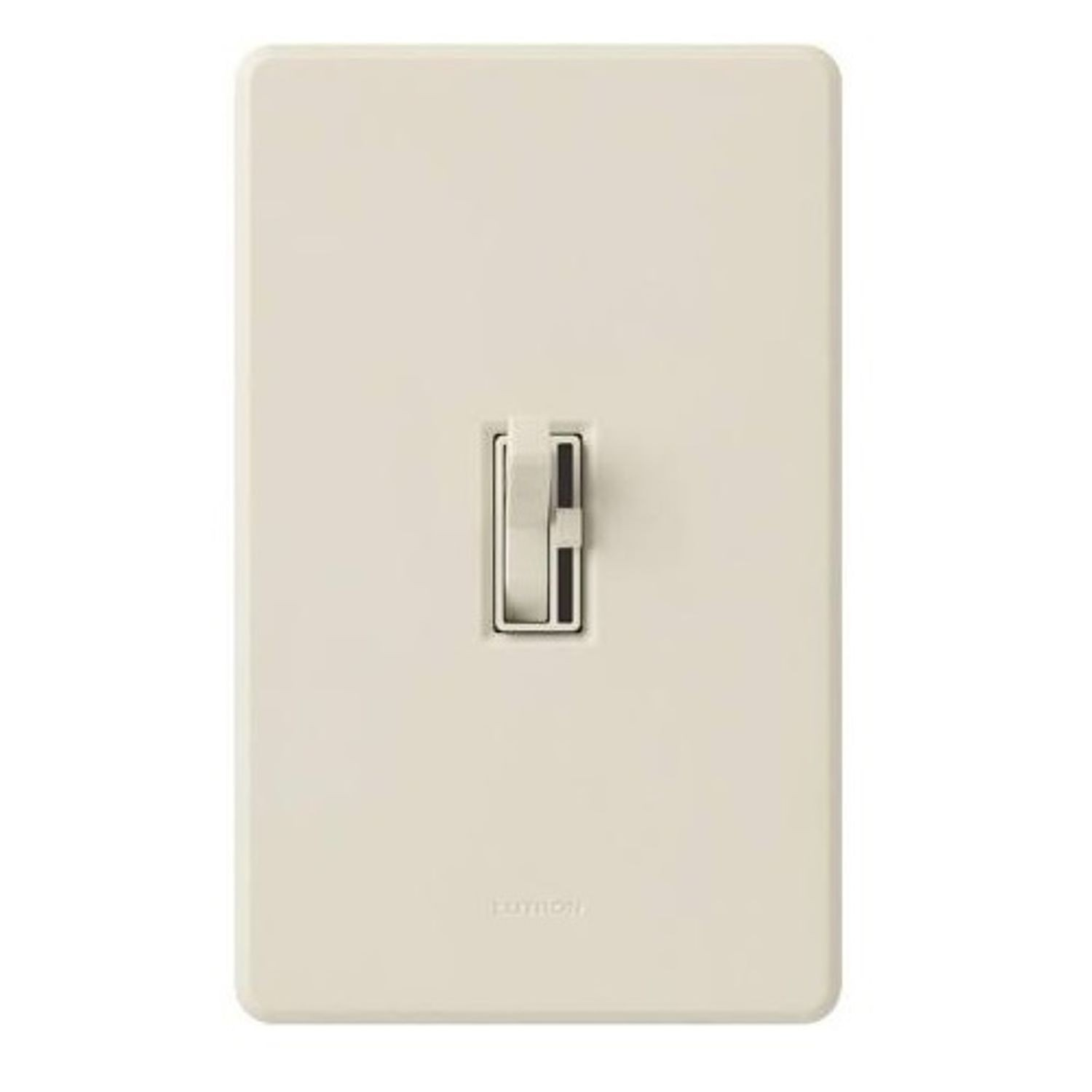Ariadni Traditional 3 Way Circuit Dimmer Switch 120 Vac 1 Pole Light Almond