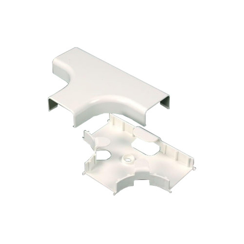 Wiremold® 2915FO Single Channel Raceway Tee Fitting, 3/4 x 1-1/2 in ...