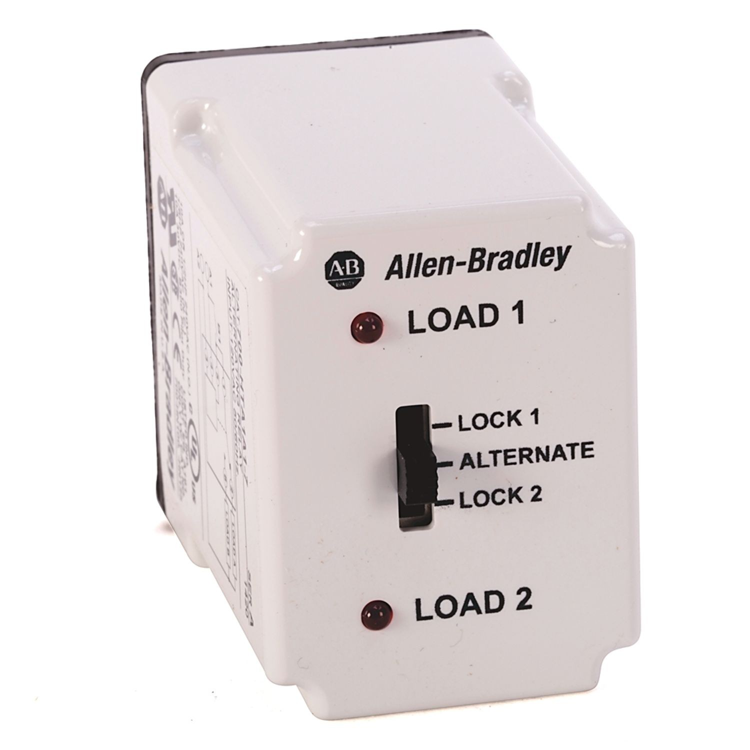 Allen Bradley 700 Hta Alternating Relay Dpdt Cross Wired 3 Electrical Control Switch 120v Ac W Selector