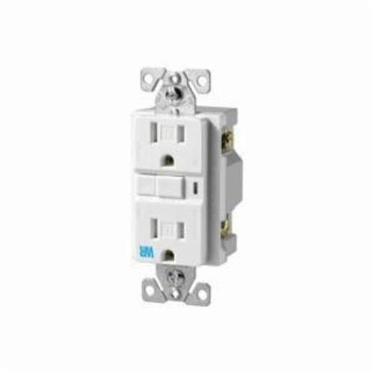 Cooper Wiring Twrvgf Tamper And Weather Resistant Duplex Gfci Receptacles Receptacle 125 Vac 15 A 2 Poles 3 Wires Light Almond
