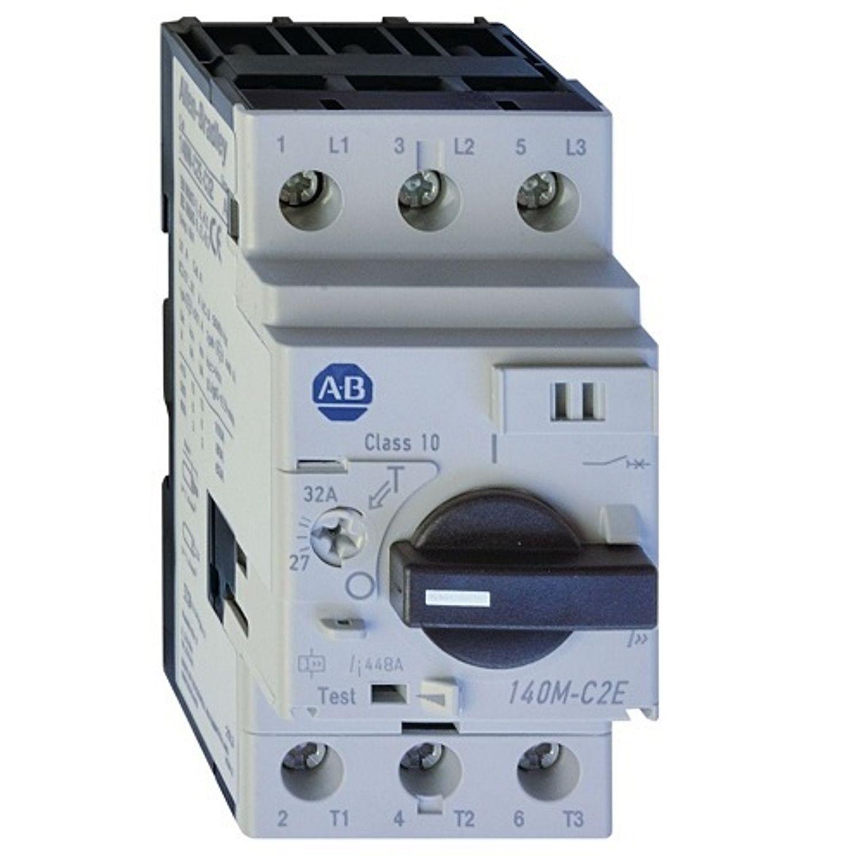 Allen Bradley Motor Protection Circuit Breaker 100 Ka 3 Pole 600 Small Volts690 Volts Cat Iii