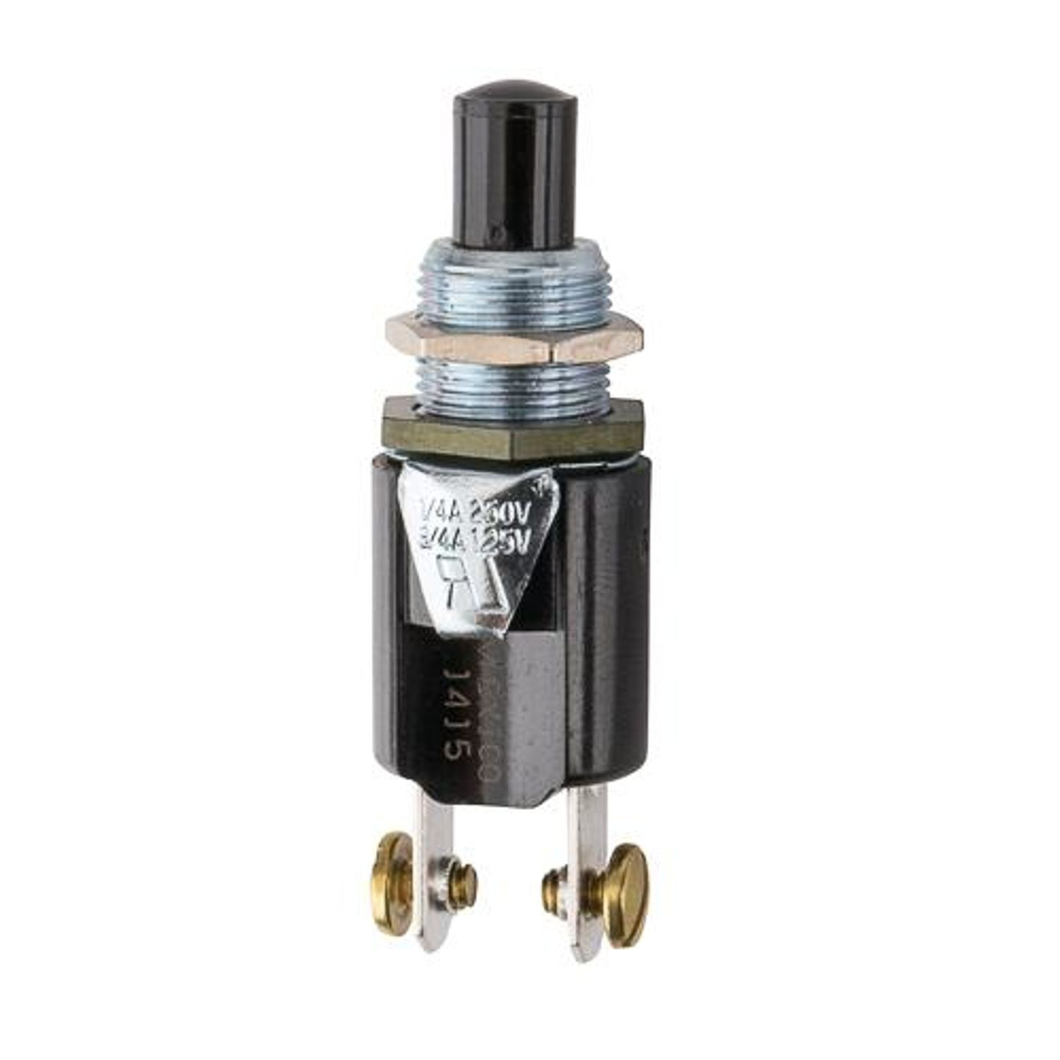 Nsi Industries Pushbutton Switch On Off Push Button Spst 1no Switches Momentary 125 To 250 Vac
