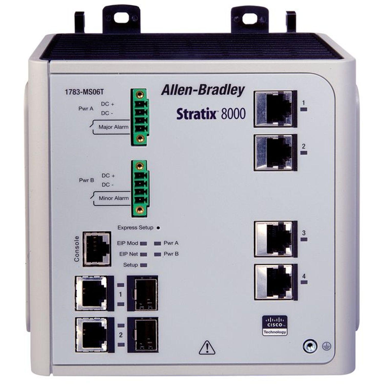 Allen Bradley 1783 Ms10t Stratix 8000 Switch Managed 10 Port Base
