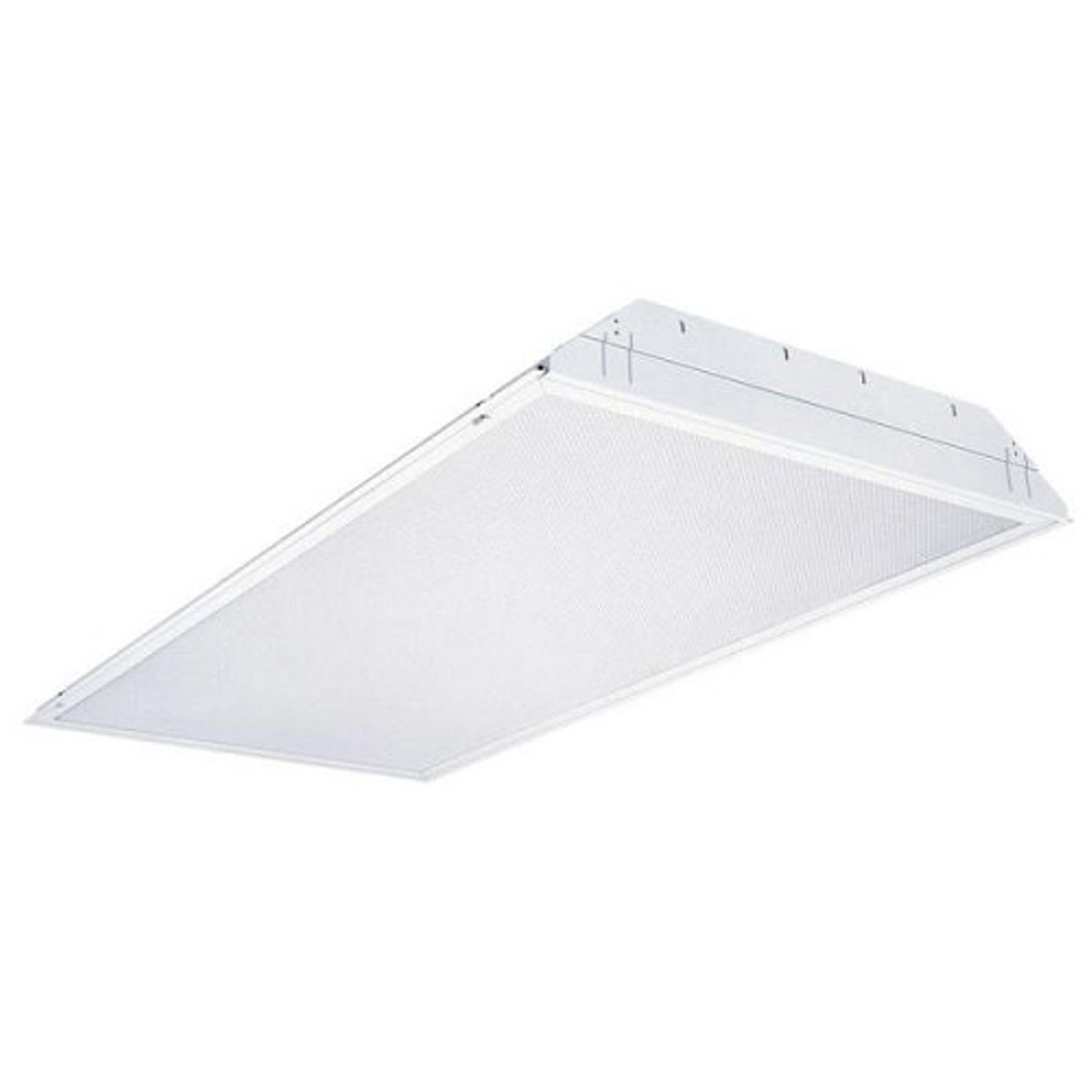 Lithonia Lighting 2gt8 General Purpose Troffer 2 T8 Fluorescent Lamp 120 277 Vac Steel Housing Lay In Fits 2x4 Grid