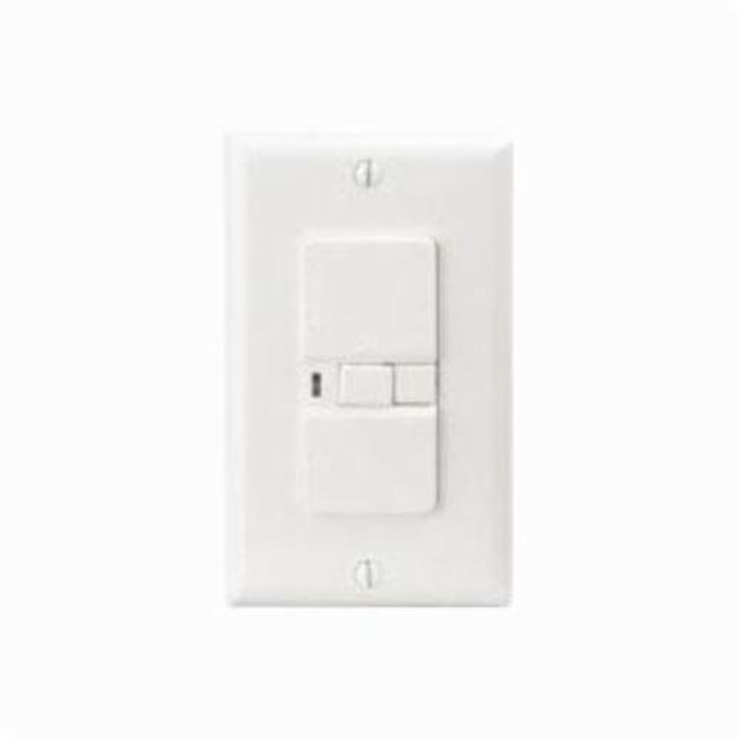 Eaton Wiring Devices Arrow Hart Vgfd20w Blank Face Gfci Receptacle Receptacles 125 Vac 20 A 2 Poles 3 Wires White