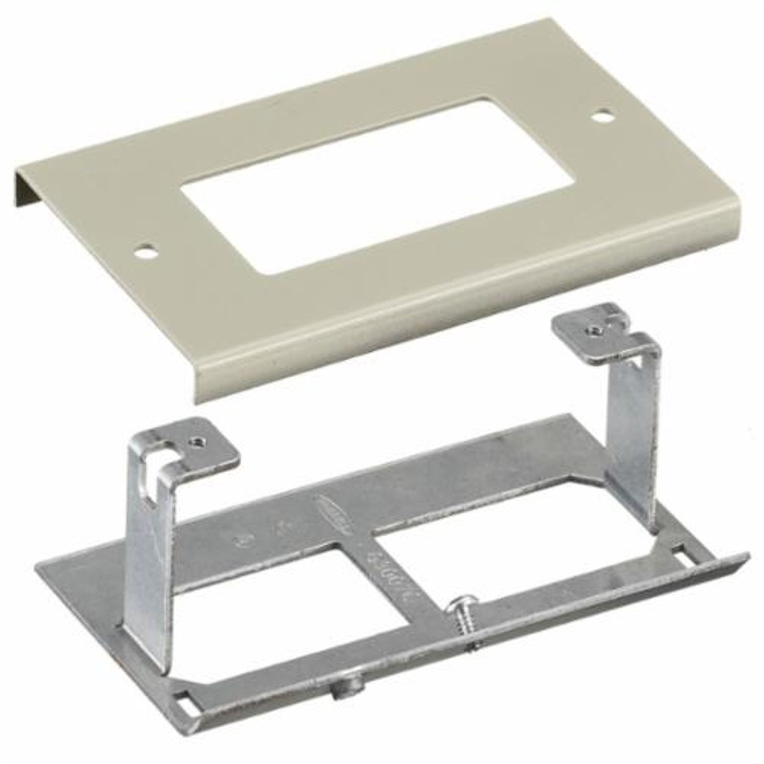 Premise Wiring Style Line Hbl3048riv Decorator Gfci Rectangular Receptacle In Series Standard Cover Plate For Use With Hbl3000 Metal Raceway