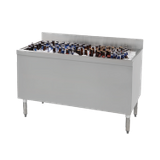 "Advance Tabco CRBB-60 Underbar Basics Beer Bath, 60""W x 24""D x 33""H O.A., bin size 57-3/4""W x 20-3/4""D x 18"" deep, with perforated false bottom"