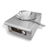 APW IWK-1 Champion Induction Wok, countertop, manual rotary knob control, (19) power settings, for use with Ferrous stainless steel, iron/cast iron