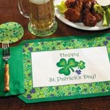 PLACEMAT ST PATRICK DAY COMBO WITH NAPKIN (250)
