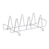Alto-Shaam SH-23000@610 Chicken Rack, (6) chicken capacity, stainless steel, fits inside full-size hotel pan, oven holds (2) racks, for 6-10