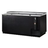 TRUE TD-65-24 Bottle Cooler, Flat Top, (22Cs) 12Oz Bottles Or (32.5Cs) 12Oz Can Capacity, Stainless Steel Counter Top & (2) Lids, Barrel Locks