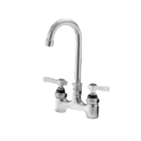 "Advance Tabco K-62 Extra Heavy Duty Faucet, 4"" O.C, deck mounted with 3-1/2"" gooseneck spout, lead free"