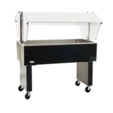 "Eagle BPCP-3 Deluxe Service Mate, Portable Buffet Cold Pan Unit, 48""W, ice cooled, 20"" x 6"" deep insulated stainless steel pan with 1-1/2"" drain"